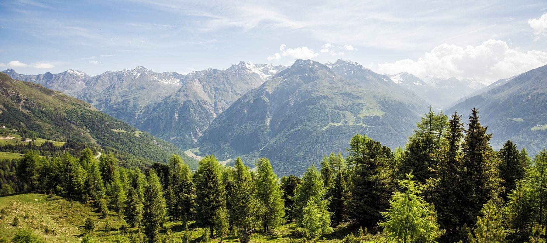 Sölden-Berge-Urlaub