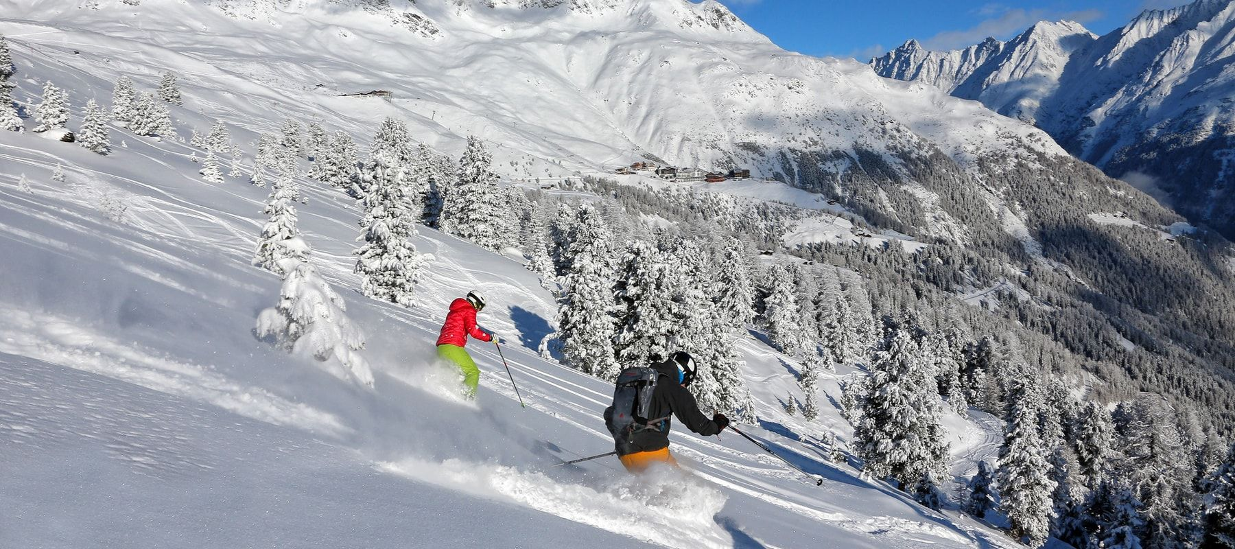 Skifahren-Freeriden-Sölden